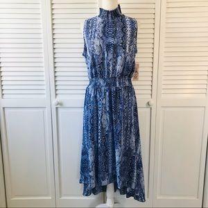 NANETTE LEPORE Sleeveless Blue Denim Dress Size 12
